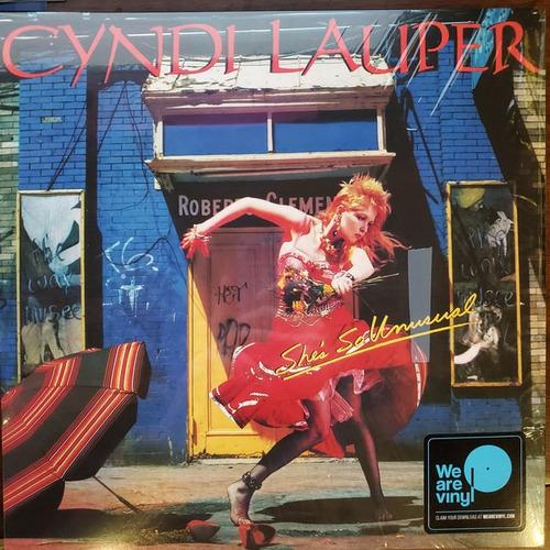 Vinilo Cyndi Lauper ¿she's So Unusual Nuevo Sellado