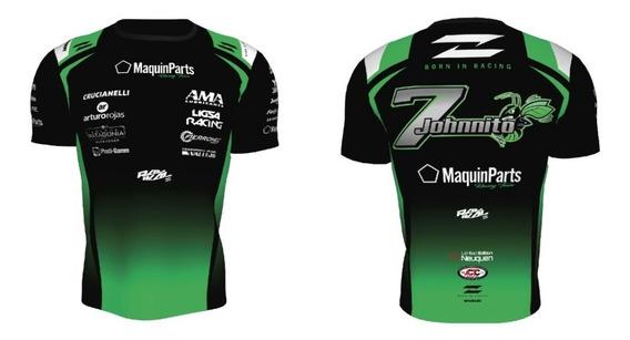Remera Tc 2020 Team De Benedictis -degrade- Radikal Racing