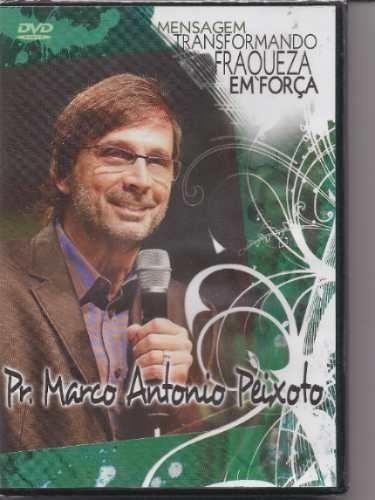Dvd Marco Antonio Peixoto Mensagem Uma Geração Que Deu A M13