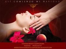 Masajes Antiestres Reiki Terapias Promoción Navidad