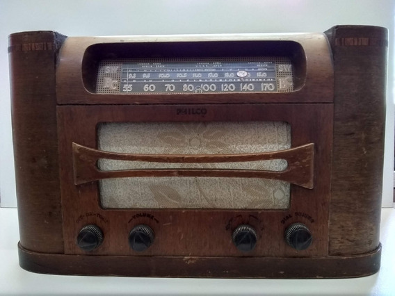 Radio Philco 46-431 De Bulbos
