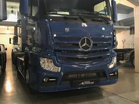 Nuevo Mercedes Benz Actros 2042 Ls 37 4x2 Azul Violeta
