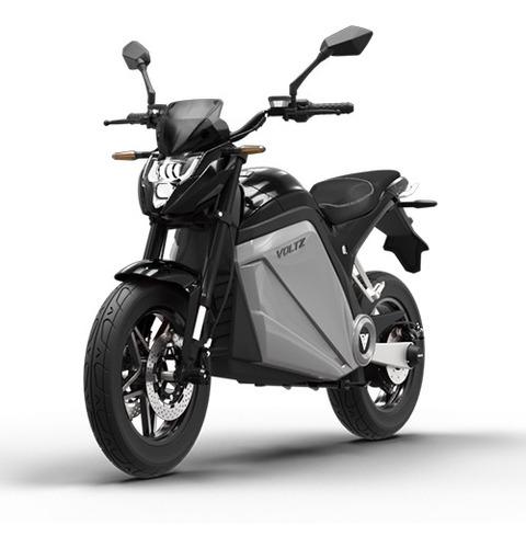 Imagem 1 de 14 de Moto Elétrica Voltz Evs Black 2 Baterias