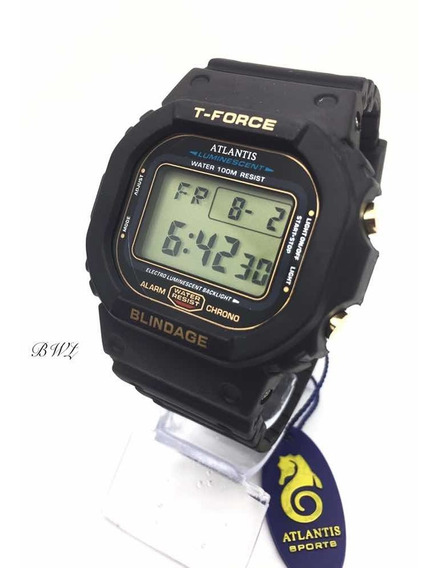 Relógio Digital Masculino Esportivo Atlantis T-fource A7305