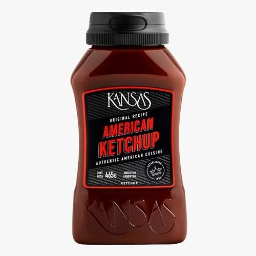 Imagen 1 de 3 de Aderezo Ketchup Kansas X 465 Gr