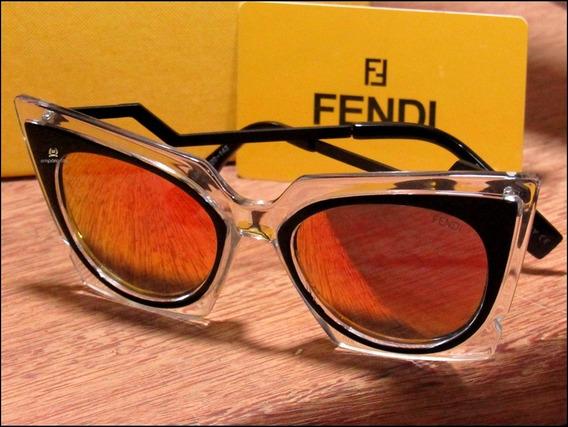 Óculos De Sol Fendi Orchidea Unisexx Já No Brasil °0988°
