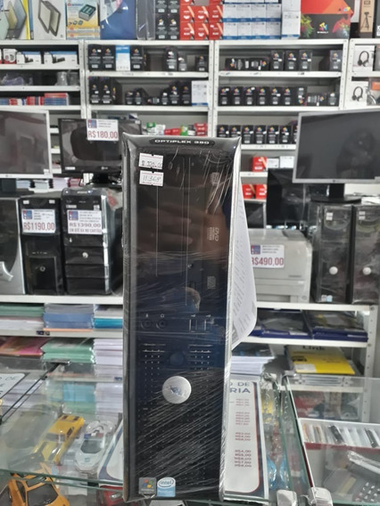 Cpu Dell Optiplex Dual Core 2gb Hd 160 #usado C/garantia