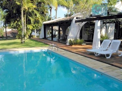 Imagem 1 de 30 de Casa À Venda, Condomínio Granville , Praia Da Enseada - Guarujá. - Ca0795