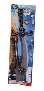 Espada Pirata Con Revolver A Pila Y Sonido