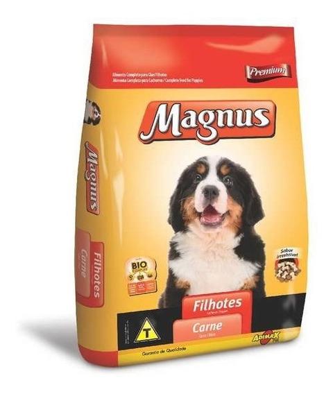 Ração Premium Magnus Filhotes Carne 10.1kg