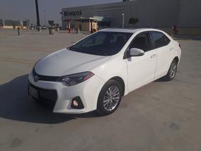 Toyota Corolla 2015 1.8 S Plus At Gps Piel Camara Quemacocos