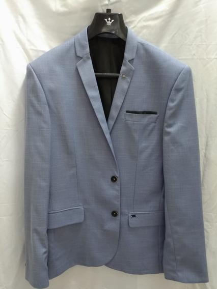 Blazer Docthos Slim Alfaiataria Azul Claro 48 / 50 - 14294