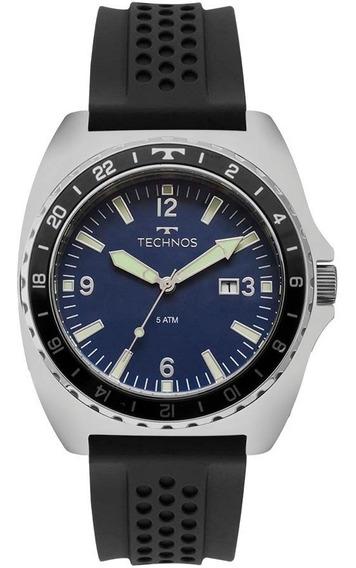 Relógio Technos Masculino Racer 2115moc/1a Aço Analogico