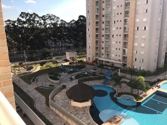 Apartamento Condomínio Reserva Dos Lagos Bairro Interlagos 3 Domrs Sendo 1 Suíte Lazer Completo - Sz6174