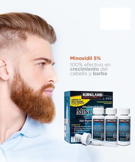 Minoxidil Cabello Barba Kirkland