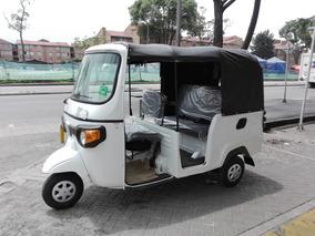 Motocarro Pasajeros Sencillo Piaggio