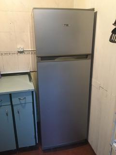 Heladera Con Freezer Saiar Plata Como Nueva