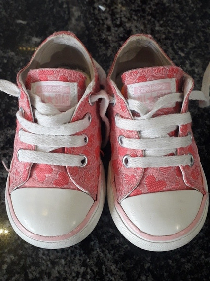 Zapatillas Converse All Star Nena Excelente Estado