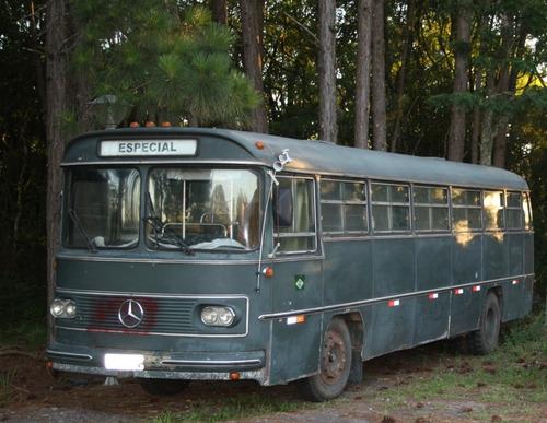 Onibus Monobloco O-362 Antigo Mercedes 77