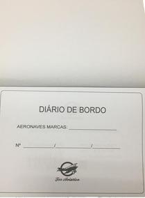 Diário De Bordo Regulamentação 2019 Capa Abertura Superior
