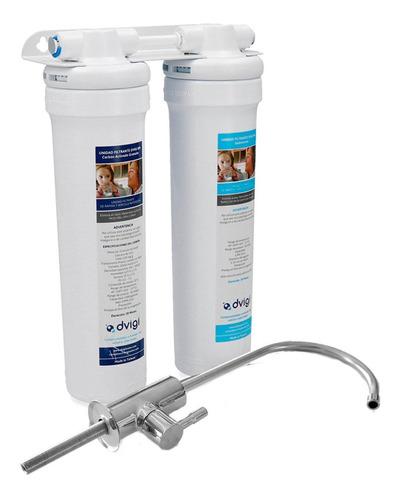 Purificador De Agua Bajo Mesada Ultrafiltración Dvigi Pcm