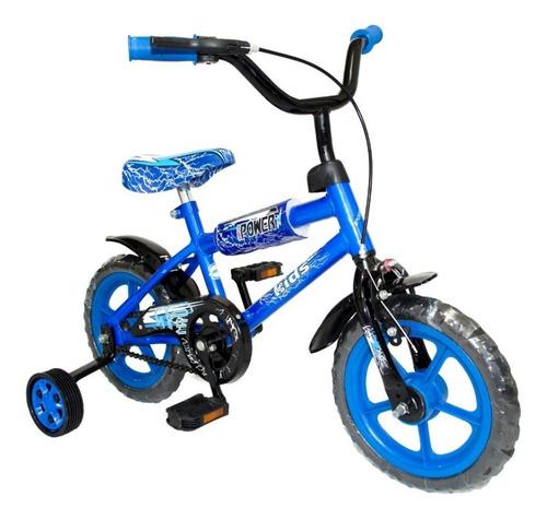Imagen 1 de 5 de Bicicleta Rodado 12 Reforzada Y Con Rueditas Niños Niñas