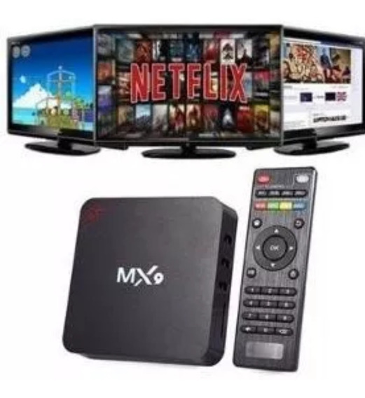 Tv Box Mq 4k Ultra Hd 16gb Armazenamento E 2gb Ram