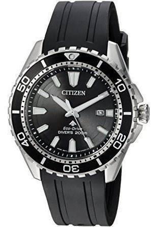 Relógio Masculino Citizen Bn0190-07e Diver Drive Preto Eco