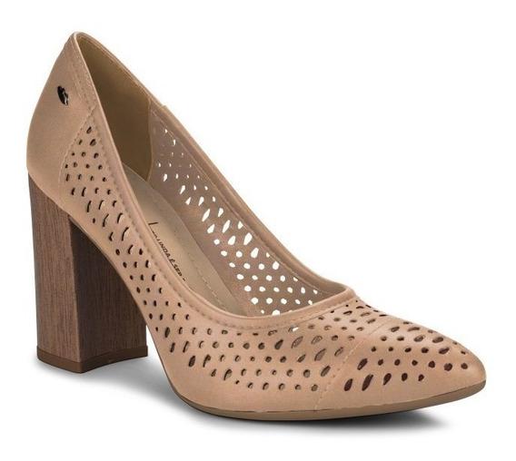 Sapato Scarpin Salto Grosso Feminino Dakota G1094 Colonelli