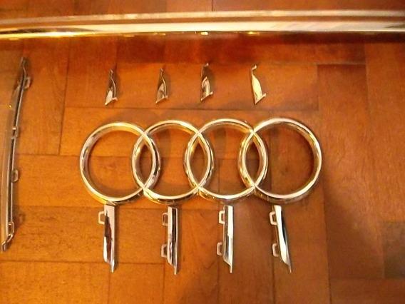 Cromados Parrilla Audi Q5 2013/6 Orig Precio Por Barritac/u