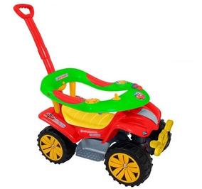 Andador Boy Car Biemme Vermelho