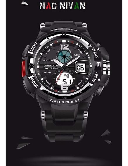 Relógio Masculino Racer Original À Prova Dágua 5atm Presente