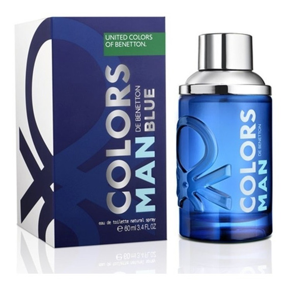 Colors De Benetton Blue 60ml Masculino | Ganhe Amostra