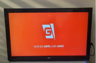 Tv Aoc 42 Full Hd Com Nota Fiscal E Garantia