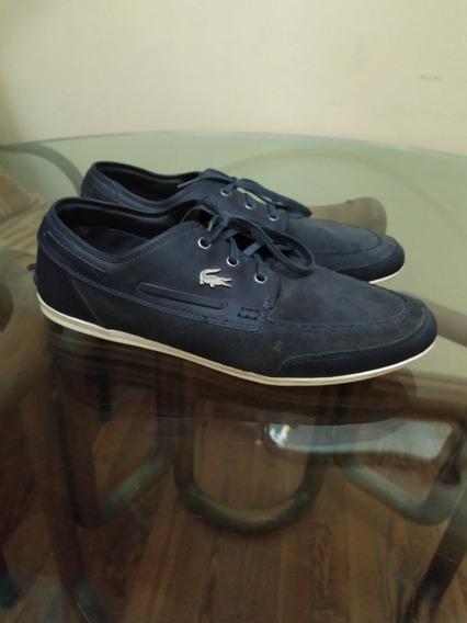 Zapatos Lacoste Misano Boat 100% Originales 10 De 10