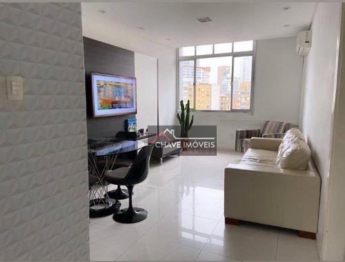 Imagem 1 de 30 de Lindo Apartamento No Coração Do Gonzaga - Ap2832