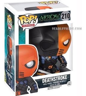 Funko Pop Deathstroke Arrow 210 Original Scarlet Kids