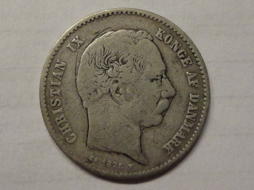 Dinamarca Krone 1875 Hc Km 797.1  Mb-