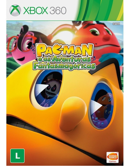 Dvd Original P/ Xbox 360 Pac-man And The Ghostly Adventures