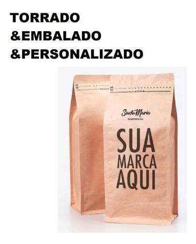 Cafe Personalizado Logo Empresa 55 Pacotes Grao Ou Moido