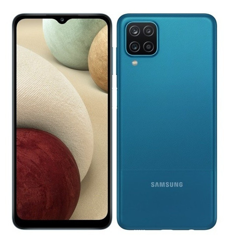 Teléfono Samsung A12 4gb Ram 64gb Azul