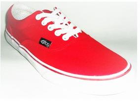 Tênis Freedom Fog Truck Vermelho Skate Shoes