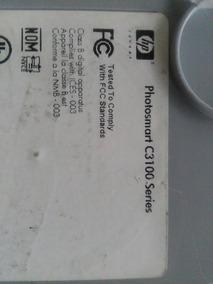 Impressora Multifuncional Hp Photosmart C3180 - Com Defeito