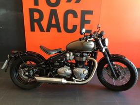 Triumph - Bonneville Bobber 1200 - Cinza