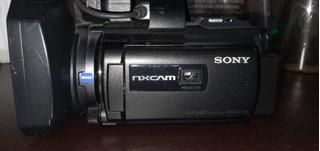 Sony Nx30 Nxcam, Con Disco Duro Y Proyector.