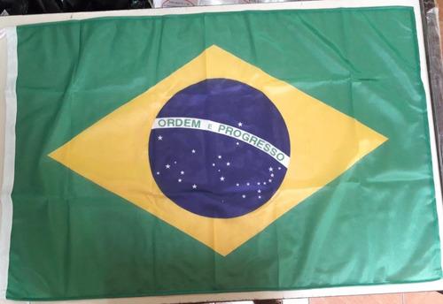 Imagen 1 de 1 de Bandera Brasil Ordem Eprogresso Original 90 X 150cm