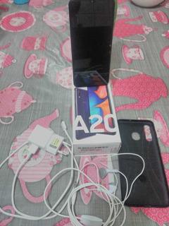 Smartphone Samsung A20 Usado, Super Brinde Grátis !!!