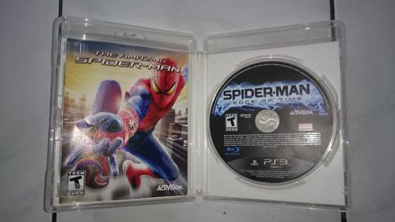 Jogo Spider-man Edge Of Time Com Capa The Amazing Spider-man