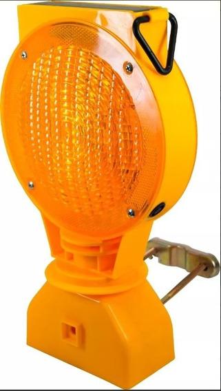 Lampara De Destello Solar Amarilla Trafitambo