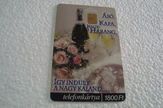 Cart Hungria Matav / Garrafa Rosas Bandeja Foto Maos Amor